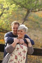 Engagement photo shoot with a future bride and groom. Outdoor venue in Murrieta.